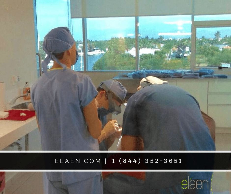 Hair Transplant Mexico Surgery Room During Surgery
